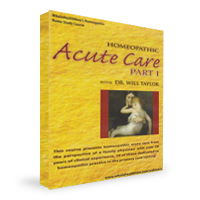 Homeopathic Acute Care Part 1